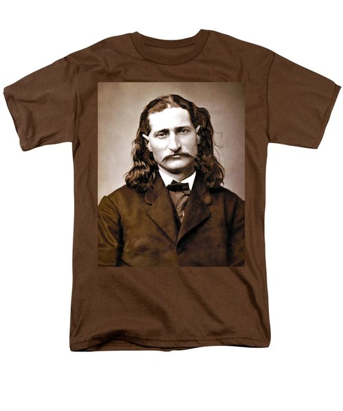 WILD BILL HICKOK PAINTERLY T-Shirt by Daniel Hagerman