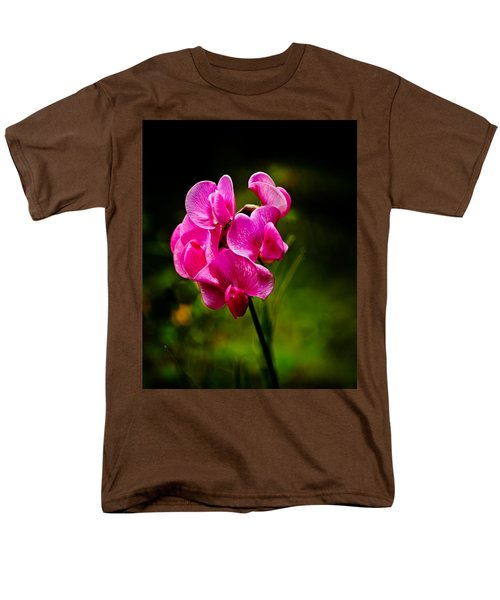 Wild Pea Flower T-Shirt by Robert Bales