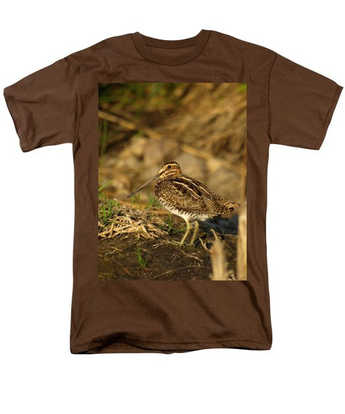 Wilson's Snipe Men's T-Shirt  (Regular Fit) by James Peterson