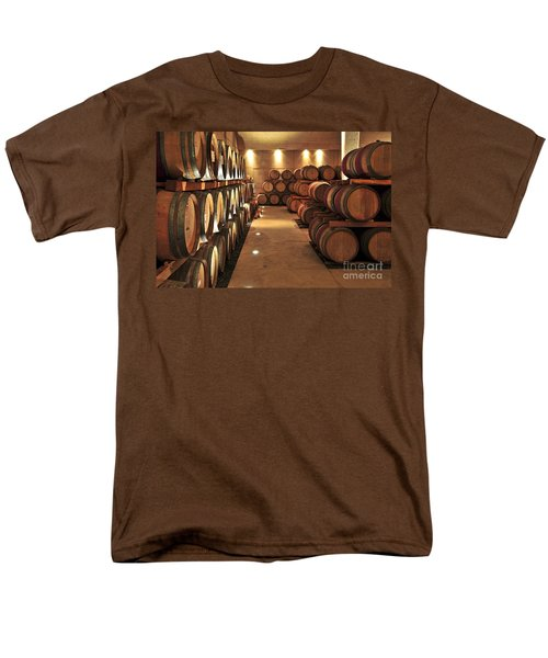 Wine barrels T-Shirt by Elena Elisseeva