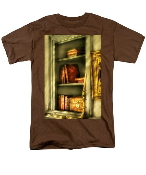 Writer - In the Library  T-Shirt by Mike Savad