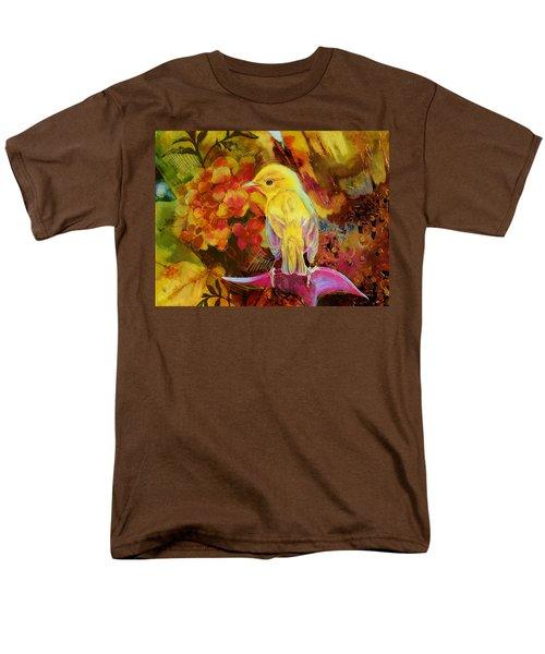 Yellow Bird Men's T-Shirt  (Regular Fit) by Catf