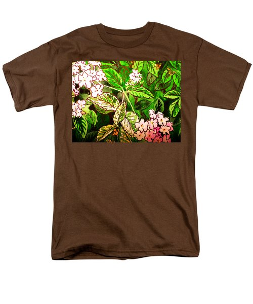 Garden Flowers Sketchbook Project Down My Street T-Shirt by Irina Sztukowski