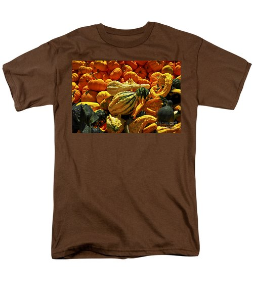 Pumpkins and gourds T-Shirt by Elena Elisseeva