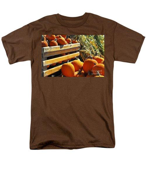 Pumpkins T-Shirt by Elena Elisseeva