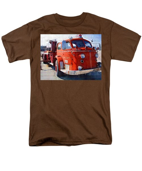 1954 American LaFrance Classic Fire Engine Truck T-Shirt by Kathy Clark