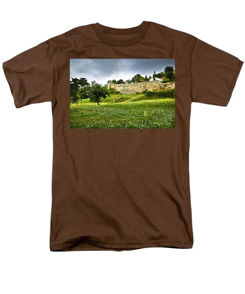 Kalemegdan fortress in Belgrade T-Shirt by Elena Elisseeva