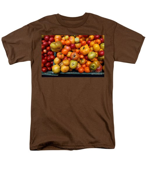 A Variety of Fresh Tomatoes - 5D17812 T-Shirt by Wingsdomain Art and Photography