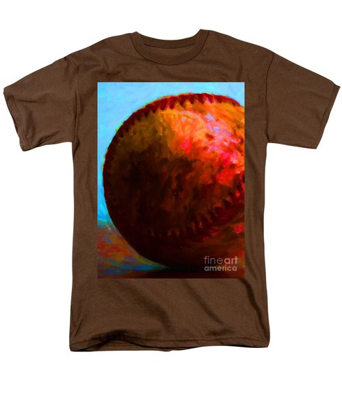 All American Pastime - Baseball Version 3 - Painterly T-Shirt by Wingsdomain Art and Photography