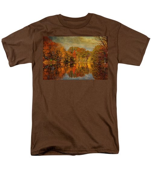 Autumn - Landscape - Tamaques Park - Autumn in Westfield NJ  T-Shirt by Mike Savad