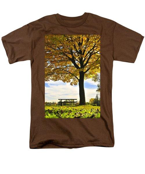 Autumn park T-Shirt by Elena Elisseeva