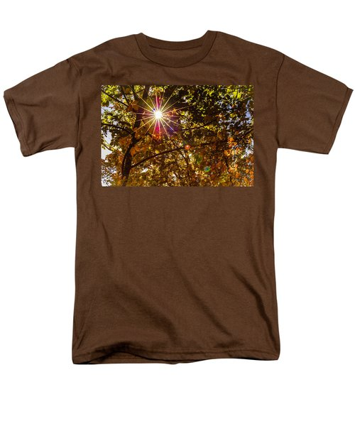 Autumn Sunburst T-Shirt by Carolyn Marshall
