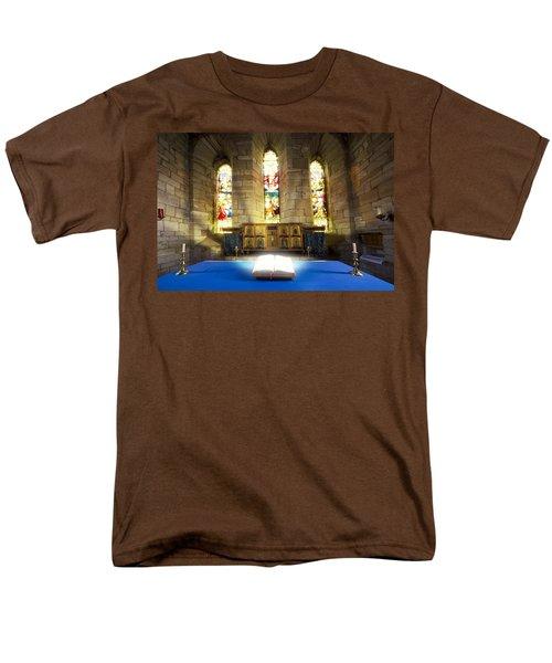 Bible In Church T-Shirt by John Short