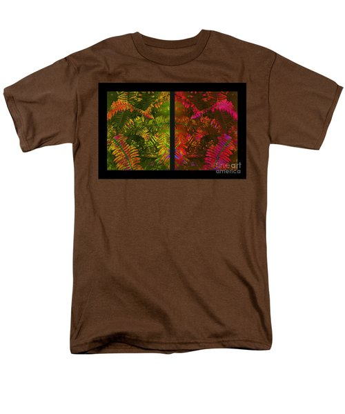 Christmas Fern Diptych T-Shirt by Judi Bagwell