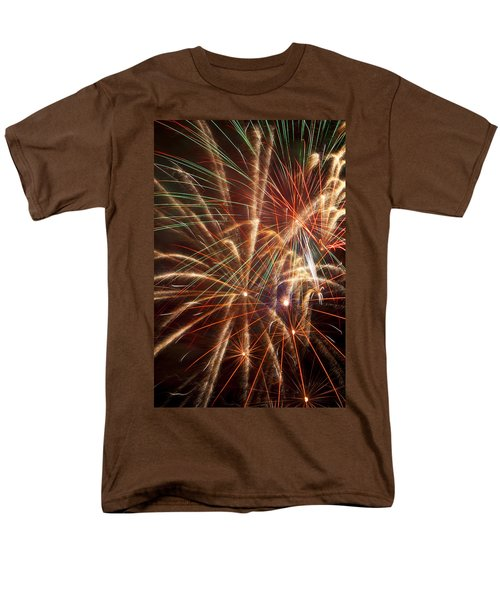 Colorful Fireworks T-Shirt by Garry Gay