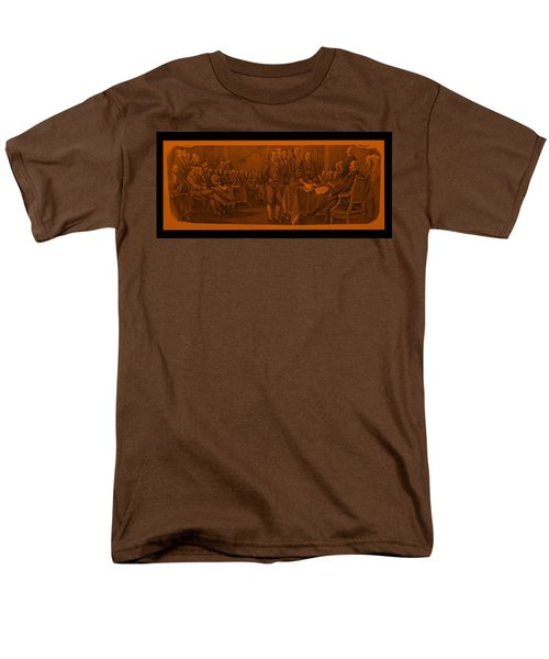 DECLARATION OF INDEPENDENCE in ORANGE T-Shirt by ROB HANS
