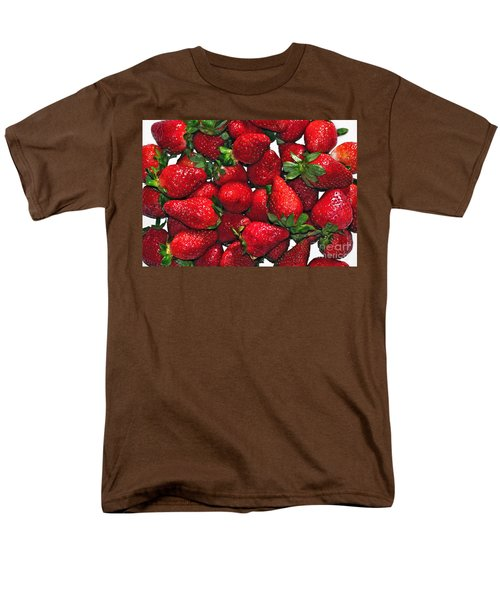 Deliciously Sweet Strawberries T-Shirt by Kaye Menner