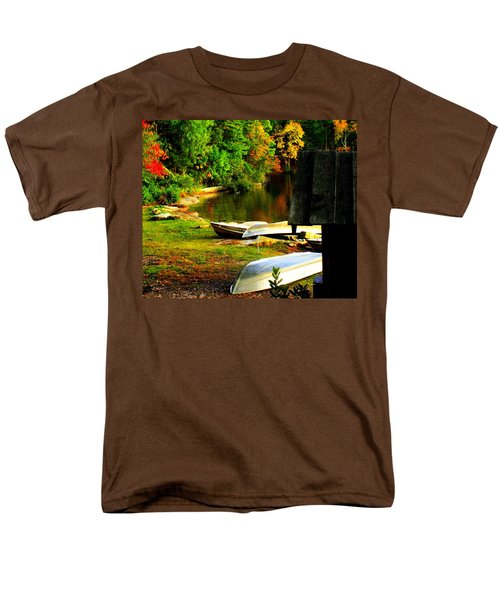 Down By the Riverside T-Shirt by KAREN WILES
