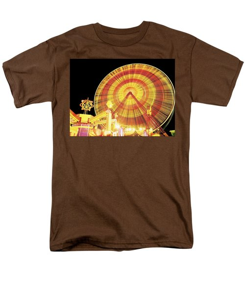 Ferris Wheel And Other Rides, Derry T-Shirt by The Irish Image Collection
