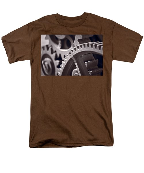 Gears Number 3 T-Shirt by Steve Gadomski