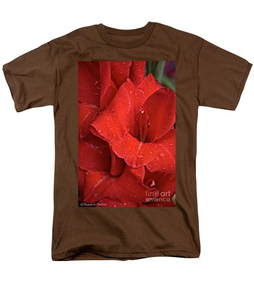 Gorgeous Glads T-Shirt by Susan Herber
