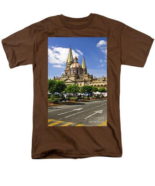 Guadalajara Cathedral T-Shirt by Elena Elisseeva