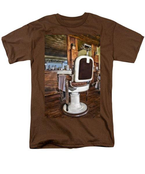 H J Barber Shop T-Shirt by Susan Candelario