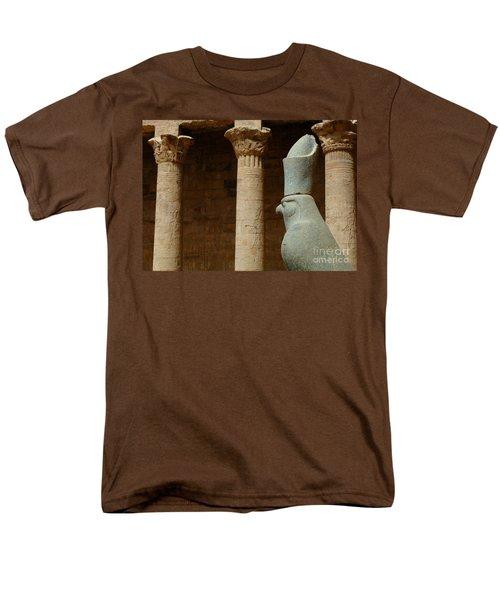 Horus Temple Of Edfu Egypt T-Shirt by Bob Christopher