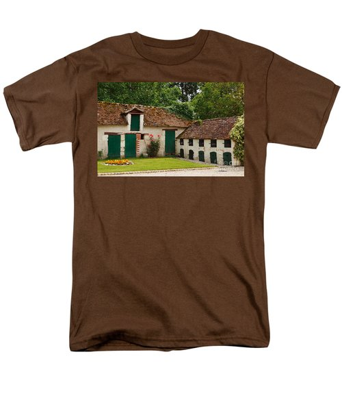 La Pillebourdiere old farm outbuildings in the Loire Valley T-Shirt by Louise Heusinkveld