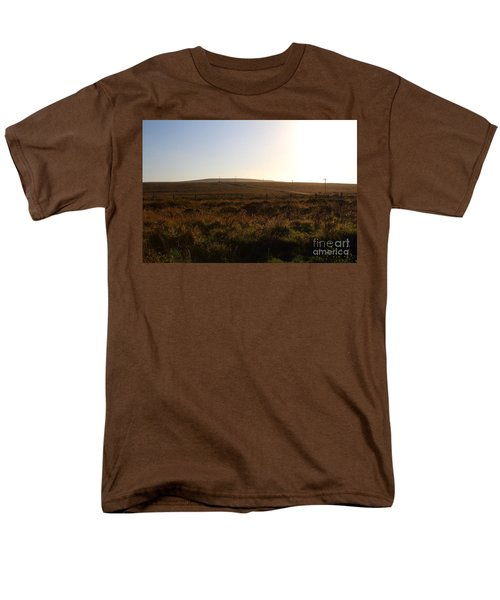 Landscape At Point Reyes California . 7D9958 T-Shirt by Wingsdomain Art and Photography