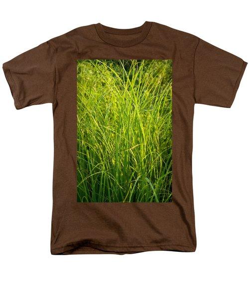 Midwest Prairie Grasses T-Shirt by Steve Gadomski