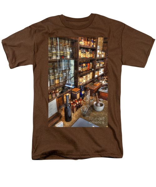 Nostalgia  Pharmacy T-Shirt by Bob Christopher