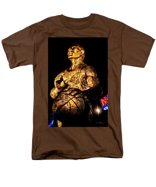 Player In Bronze T-Shirt by Christopher Holmes
