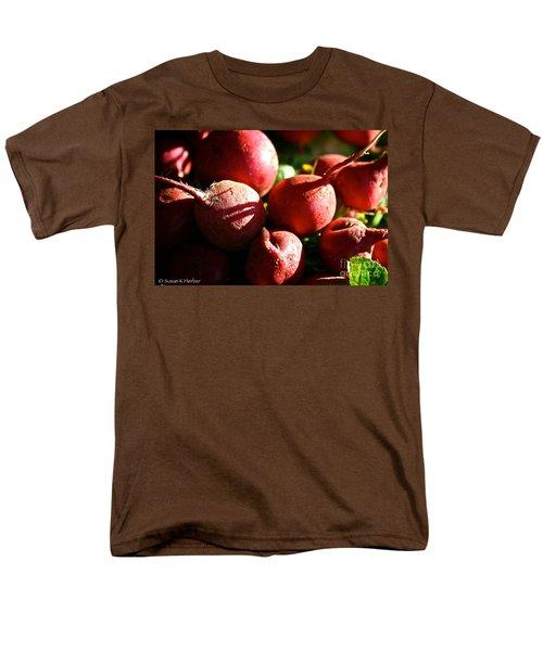 Radishes At Sunrise T-Shirt by Susan Herber