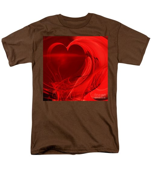 Red Love . Square . A120423.279 T-Shirt by Wingsdomain Art and Photography