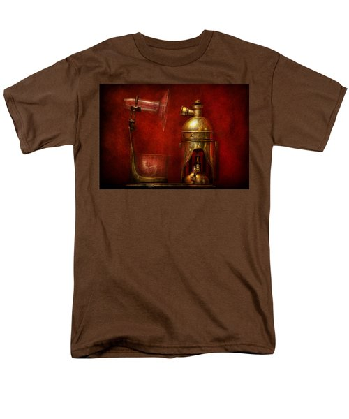 Steampunk - The Torch T-Shirt by Mike Savad