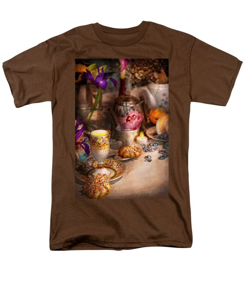 Tea Party - The magic of a tea party  T-Shirt by Mike Savad