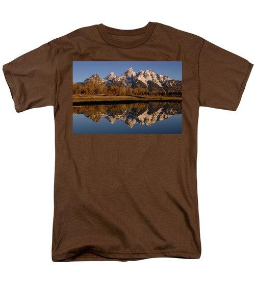 Teton Range, Grand Teton National Park T-Shirt by Pete Oxford