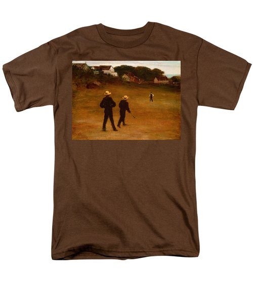 The Ball Players Men's T-Shirt  (Regular Fit) by William Morris Hunt