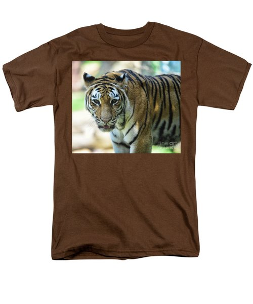 Tiger - Endangered - Wildlife Rescue T-Shirt by Paul Ward