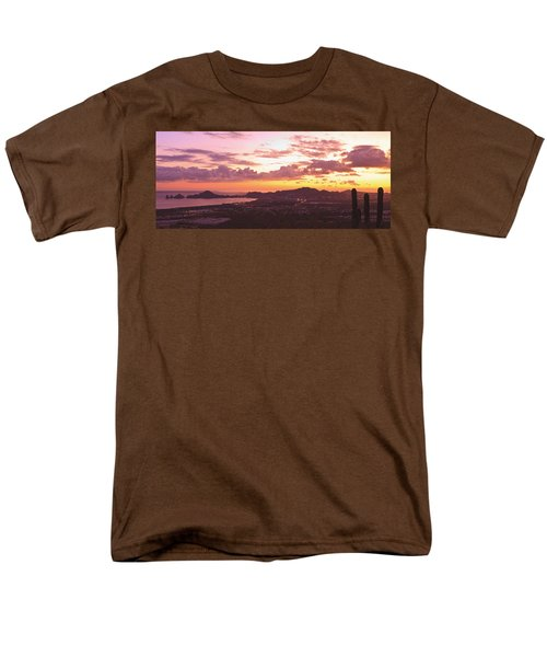View Of Cabo San Lucas And Tip Of Baja T-Shirt by Stuart Westmorland