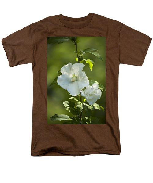 White Rose of Sharon T-Shirt by Teresa Mucha