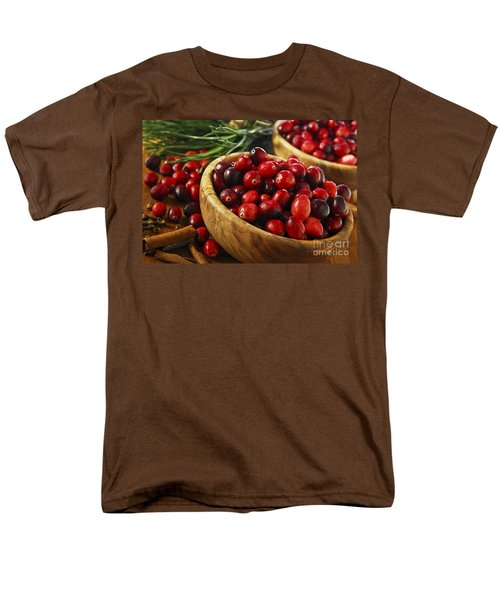 Cranberries in bowls T-Shirt by Elena Elisseeva