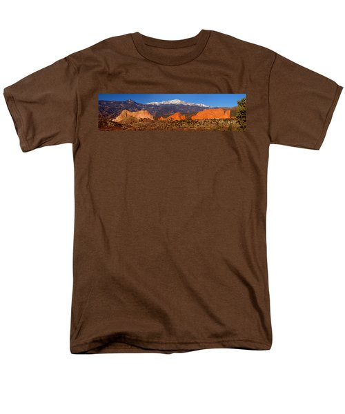 Pike's Peak and Garden of the Gods T-Shirt by Jon Holiday