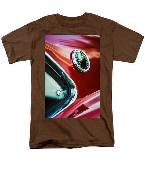 1969 Ford Mustang Mach 1 Emblem T-Shirt by Jill Reger