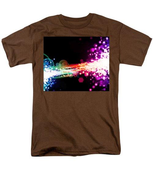 explosion of lights T-Shirt by Setsiri Silapasuwanchai