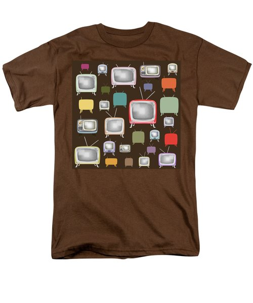 retro TV pattern  T-Shirt by Setsiri Silapasuwanchai