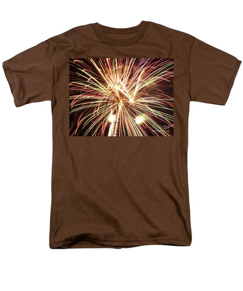 4th of July Fireworks T-Shirt by Joe Carini - Printscapes