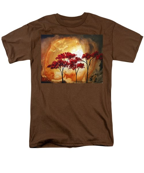 Abstract Landscape Painting EMPTY NEST 2 by MADART T-Shirt by Megan Duncanson