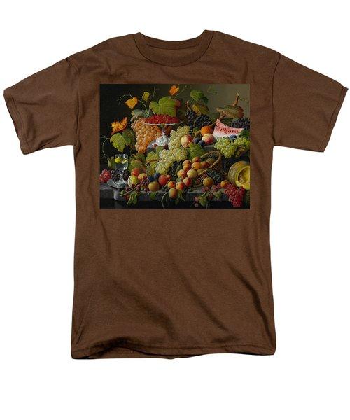 Abundant Fruit Men's T-Shirt  (Regular Fit) by Severin Roesen